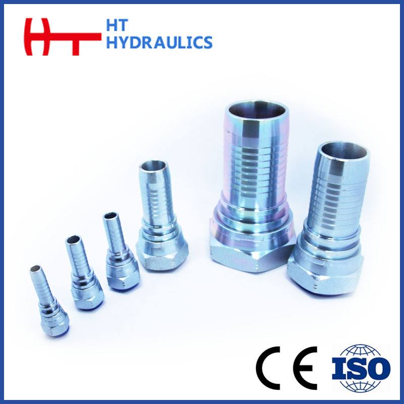 Gas Oil Hydraulic Hose Pipe Nipple Fitting