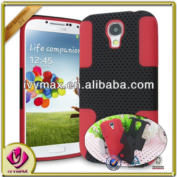ivymax 2 in1 combo case for samsung s4 i9500 phone case