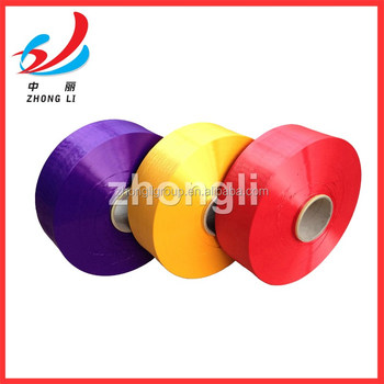 POLYESTER POY 250D/48F 250/144 TBR COLOR