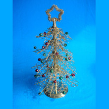 Wrought iron christmas tree for home decoration
