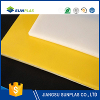 Low moisture absorption hdpe plastic sheet material price