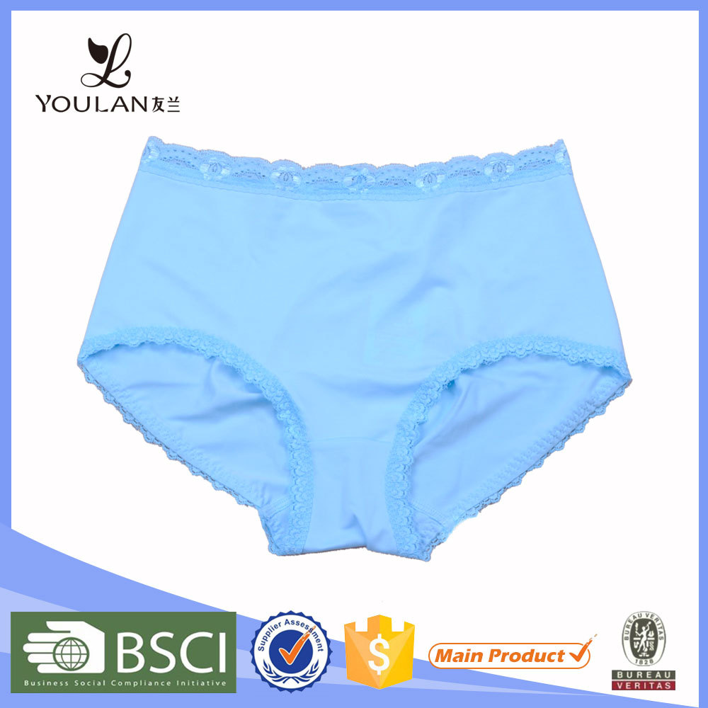 Manufacturer Fitness Female Blue 92% Polyester 8% Spandex Underwear