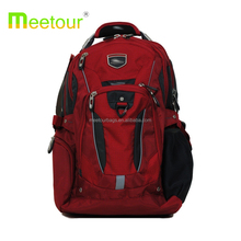 Backpack Red Fits 17'' Laptop with Tablet Storage