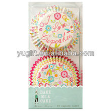 New style!!! SGS certified Customized Paper Cupcake Liners/ Muffin Cases /Baking Cups in Original Package