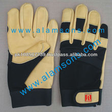 Leather Mechanics Gloves / Mechanical Gloves / Safety Gloves