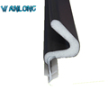 Coated sealing strip for doors and windows