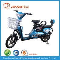 City light weight 20inch wheel remove 48V/20AH Lead Acid battery Electric Moped with pedals assist and basket rear