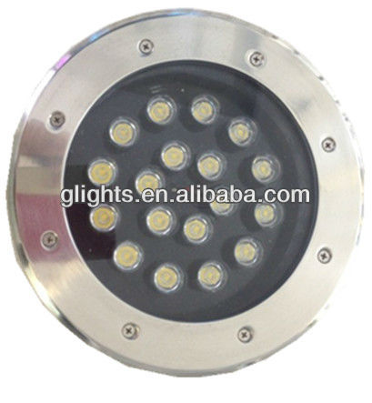 stainless steel H18-005 street led underground light, oudoor garden light, plaza lamp