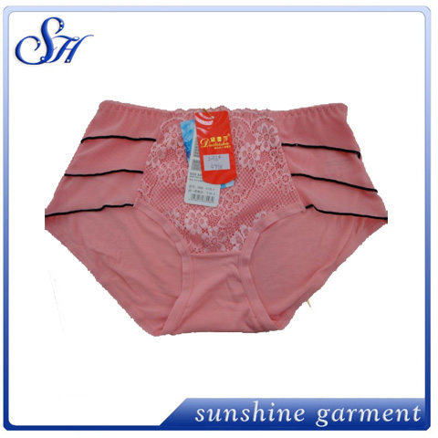 latest design hot selling high quality wholesale plus size panties for women