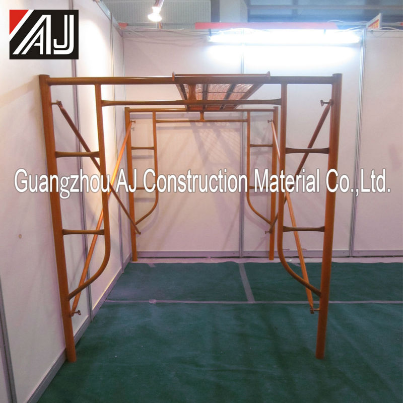Easy used prefabricated scaffolding for sale in uae, made in Guangzhou