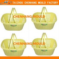 2016 Double Pull Rod bamboo basket mould for stock Novelty
