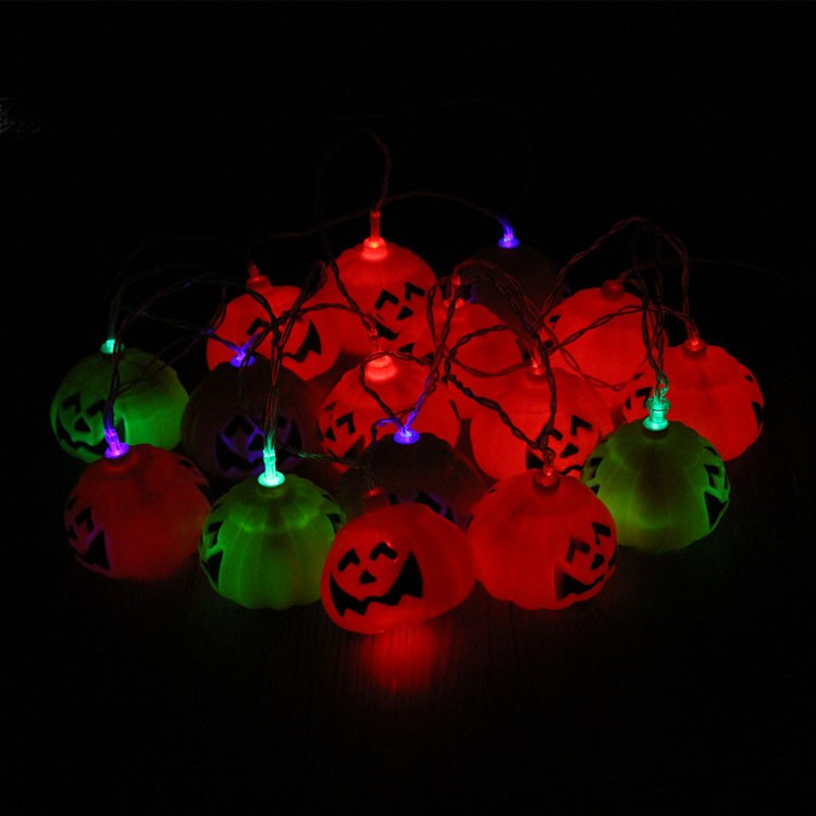 2016 LED Halloween String Light Pumpkin Lamp