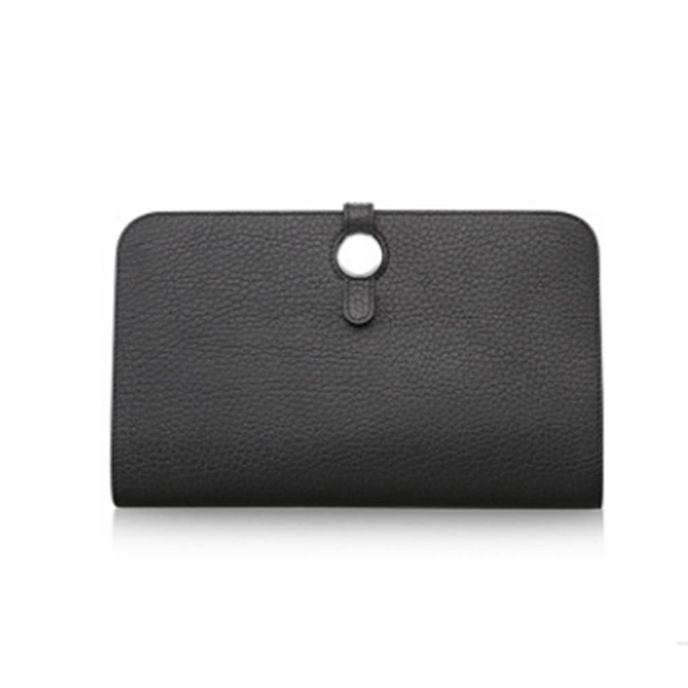 luxury Simple Promotional Woman Genuine Leather Lady Wallet