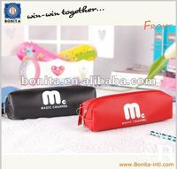 2012 fashion style cute pencil case, PU leather pencil bag