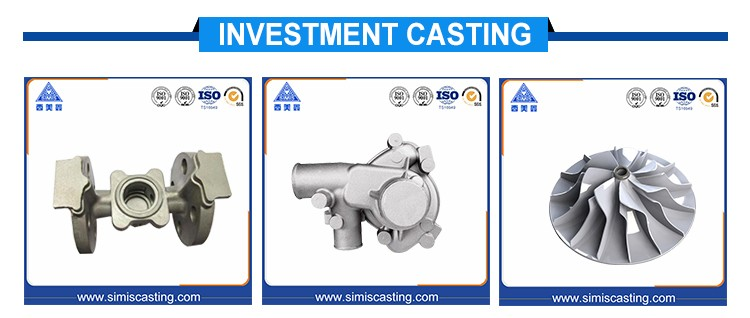1.4308 (CF8) Stainless Steel Lost Wax Casting For Industrial Meter Housing