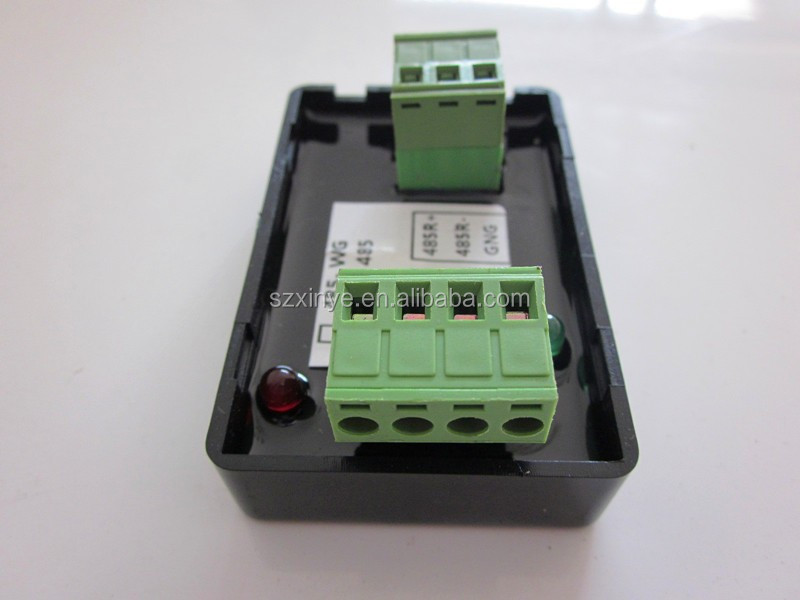 Wiegand 26/34 TO RS485 converter for door Access Control System