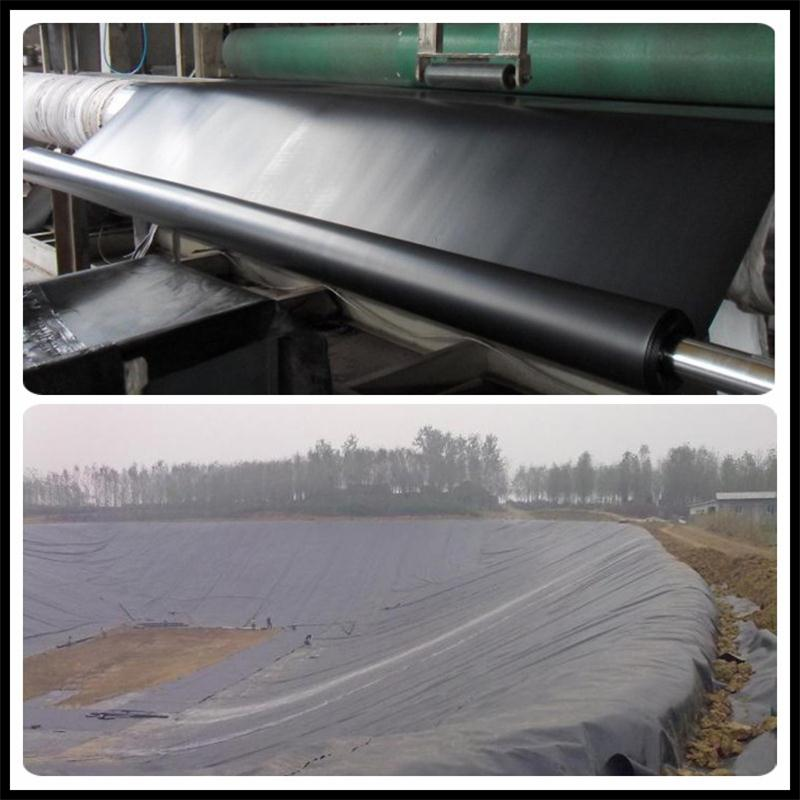 Hot sale Astm Standard 40/60/80 mils Leakproof pond geomembrane liner