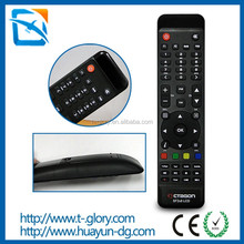 Custom Arabia Ultra HD IPTV set-top box channel infrared remote control custom RoHS ISO remote control