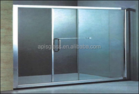 6mm 8mm 10mm tempered glass for bathroom partition wall with low price and certification