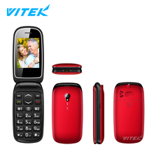 "2.2 2.4"" Old men Cell phone,Big Button Elderly Senior Mobile Phone,Low Price China Senior Flip Dual Sim Mobile Phone"