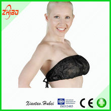 beautiful disposable Pp nonwoven and girl sexy bra