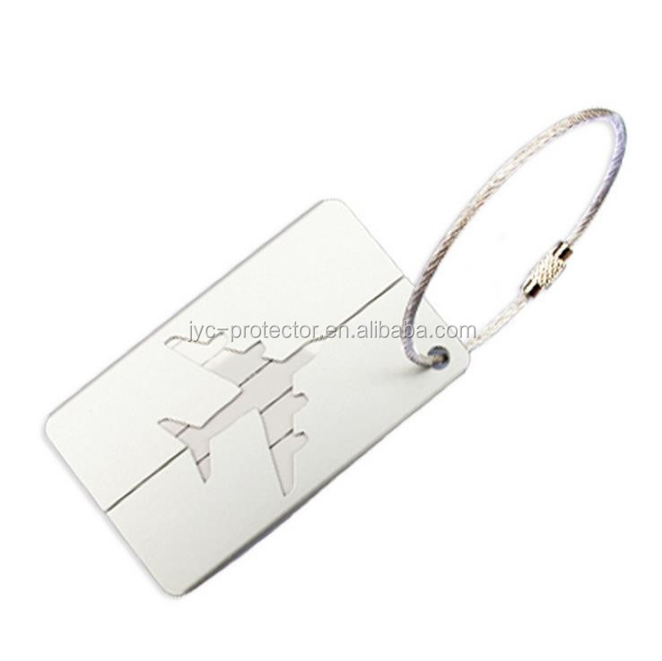 Travel Flight Aluminum Alloy Luggage Tag
