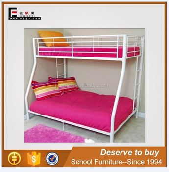 Cheap Dorm Bunk Bed for Sale, Metal Frame Bunk beds For Adult Bedroom Furniture