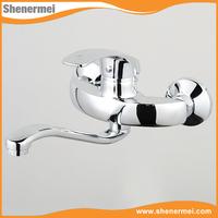 Popular European Design Wall Mount Kitchen Faucet With Sprayer