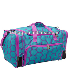 cheap polyester fold up travel bag foldable sports bag manufacturer 056