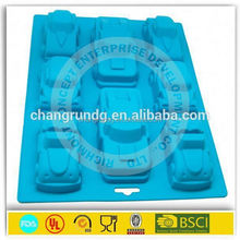 shoes shape chocolate silicone mould