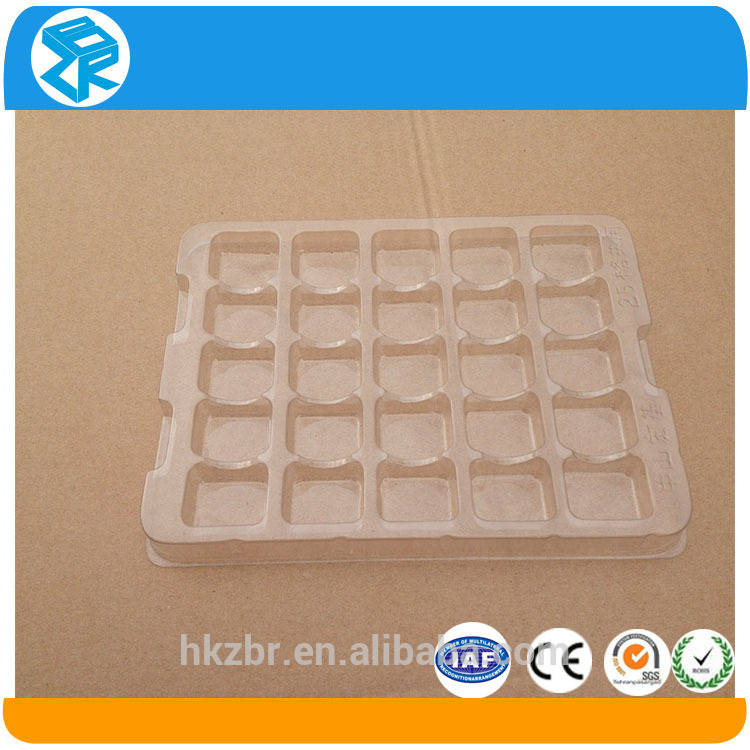 Custom made organic plastic tray pill blister packaging a4 size plastic tray