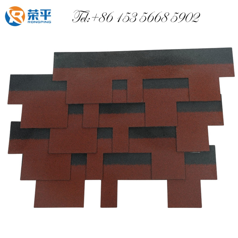 roof shingle for easy install asphalt shingles/cheaper roofing /building material