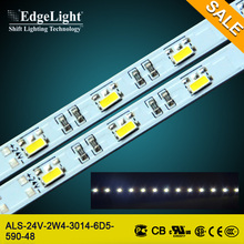 Edgelight ce ul approved factory price 3014 led strip aquarium lighting