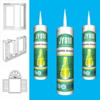 colored waterproof ge silicone sealant for window and door