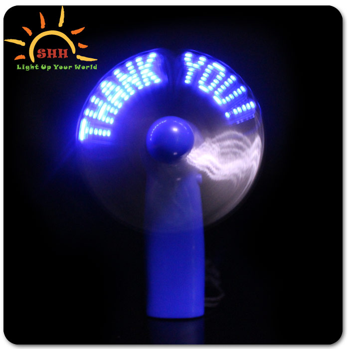 mini pocket led light fan flashing