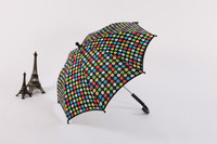 Honsen beautiful dots design child umbrella economic unique carton child umbrella