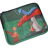promotional tablet sleeve; customized laptop case, pad bag; neoprene laptop sleeve from saywin