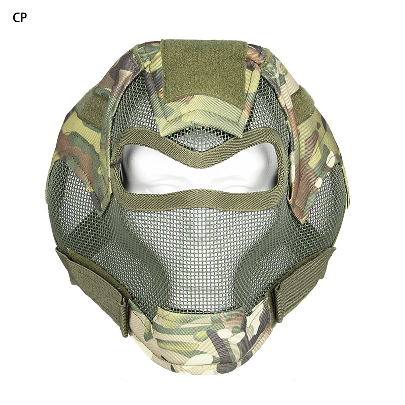 Hot Tactical Custom Army Protect Paintball Full Face Masks