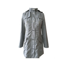 Good Peputation Factory Price Warm Women Pvc Trench Coat