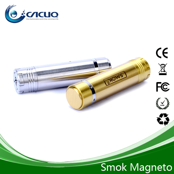 SMOK Newest Full Mechanical Telescopic Mod/Magneto Mod With Pure Stainless Steel & Magneto Contact