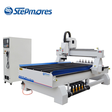 1325 automatic tool changer 3d wood carving automatic cnc router machine with Italy HSD ATC spindle