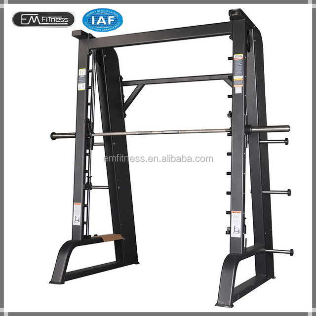 Commercial fitness equipment good quality Smith machine for body building use