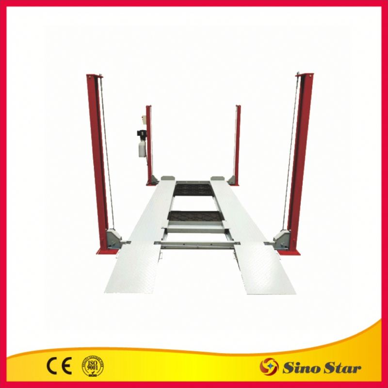 Motorcycle best 4 post car lift by ISO