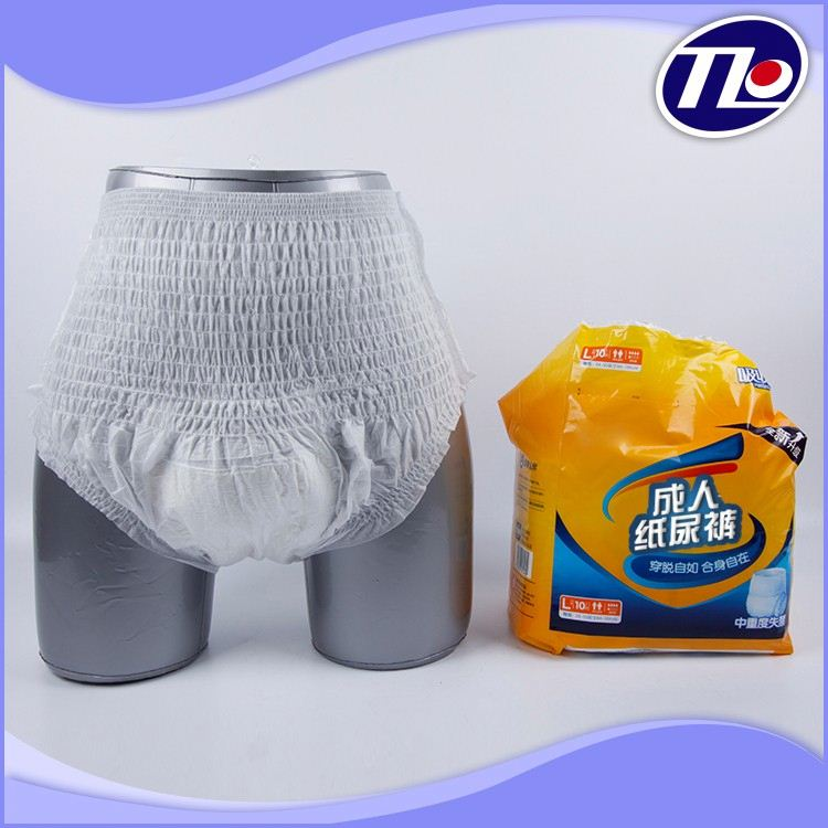 Disposable Ultra Absorbent OEM Baby Adult Diaper with custom material