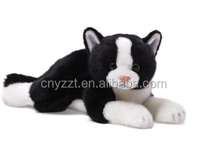 plush Halloween toys/ plush Halloween black cat/stuffed black cat toy
