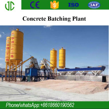 Ce, Iso Hzs25 -hzs240 Mobile/stationary Concrete Batching Plant Cememt Mixing Machine With Capacity From 25 M3/h To 240m3/h