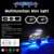 2017 Mini light colorful led light coolest Aurora 9w led rock light