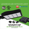 Ultra Slim UL DLC Listed 240w LED Shoebox Light with 5 Years Warranty
