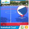 100% no used new qualified pp plastic multi- purpose futsal indoor and outdoor field basketball waterproof flooring