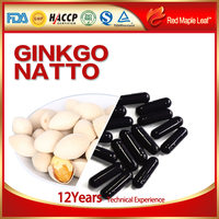Natural Ginkgo Natto Capsules, Softgels, supplement - Manufacturer, Price, OEM, Private Label